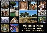 Via de la Plata - auf dem Jakobsweg von Sevilla nach Santiago (Wandkalender 2018 DIN A3 quer): Pilgern auf einer alten Römerstraße - 1000 km zu Fuß ... Natur) [Kalender] [Apr 01, 2017] B., Rina - Rina B.