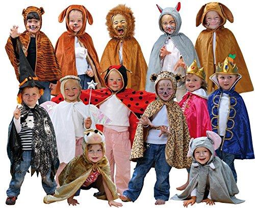 Betzold 52320 - Kinderkostüme, 13 Stück - Universalgröße (3-8 Jahren), Theater, Rollenspiel, (Einfach Märchenhafte Kostüm)
