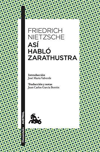 Así habló Zarathustra (Humanidades) por Friedrich Nietzsche
