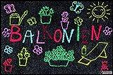 Salonloewe Fußmatte BALKONIEN - (SLD0704-050X075)