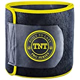 TNT Pro Series Waist Trimmer Weight Loss Ab Belt – Premium Stomach Wrap and Waist Trainer (Yellow, XX-Large)