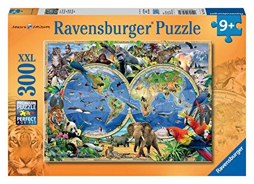Ravensburger - Animales salvajes, puzzle de 300 piezas XXL (13173 0)