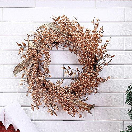 Weihnachtszierde Kranz Tür Ornamente Geschenk Fenster Szene Dekoration (Schneeflocke Clearance Dekorationen)