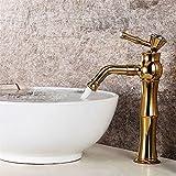 LHbox Das Kupfer Gold Rose Gold Hahn Bohren Badezimmer Waschbecken Waschbecken Waschen Legen Sie Waschbecken Mixer,