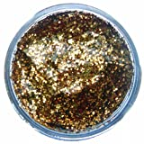 Snazaroo Face and Body Paint, Glitter Gel, 12 ml - Red Gold