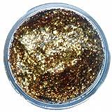Amscan - Colori per viso e corpo, gel con glitter, 12 ml, colore: Oro rosso