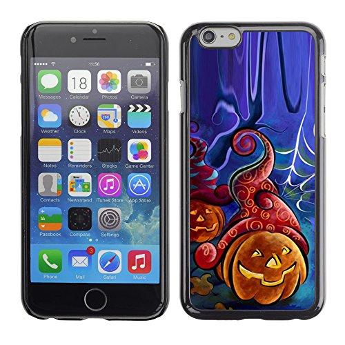 Graphic4You Halloween Allerheiligen Thema Kürbis Design Harte Hülle Case Tasche Schutzhülle für Apple iPhone 6 / 6S Design #6