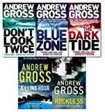 Andrew Gross Collection 5 Books Set NEW (Reckless, Killing Hour,The Blue Zone...
