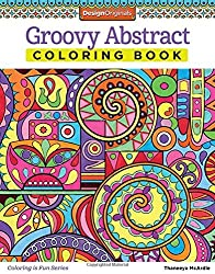 Groovy Abstract Coloring Book (Design Originals) (Coloring Is Fun) by Thaneeya McArdle (2014-12-01)