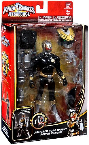 Power Rangers Megaforce Armored Robo Knight Power - Power Knight Ranger Robo