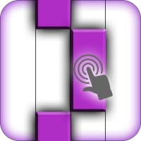 piano tiles 2 : Purple Piano Tiles -Don't Tap The White Tiles