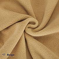 Pièce de Tissu Polaire de bonne qualité 50x75cm. Neotrims. Test International, Approuvé anti-peluche. 21 couleurs, belle matière pour vêtements, décoration intérieure et couture