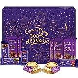 #8: Cadbury Assorted Chocolates Gift Pack, 530g - With Tea Lights Inside