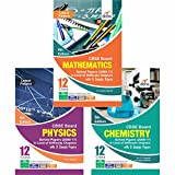 CBSE Board Class 12 Physics, Chemistry, Mathematics Solved Papers (2008 - 17)  in Level of Difficulty Chapters with 3 Sample Papers