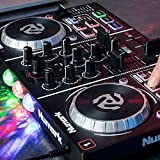 Numark Party Mix | Starter DJ Controller with Built-In Sound Card, Light Show and Virtual DJ LE Software Download