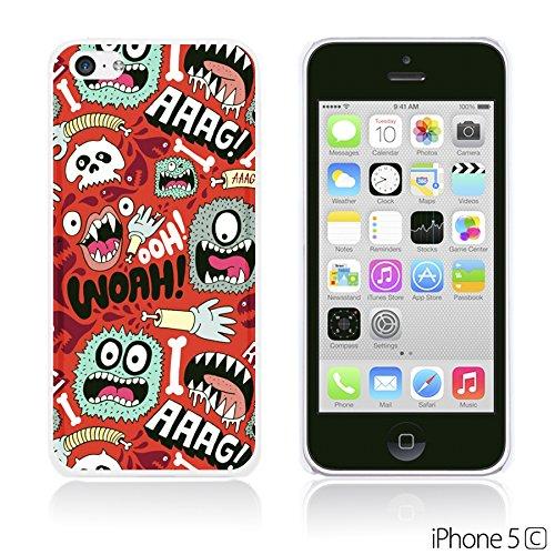OBiDi - Funny Pattern Hardback Case / Housse pour Apple iPhone 5C - A TO Z WOAH