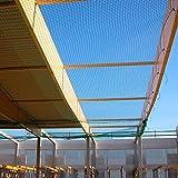 Personenauffangnetz 15 x 10 m, grün, Mw. 100 mm, DIN-EN 1263-1-S, Klasse A2