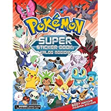 Pokemon Super Sticker Book: Kalos Region