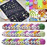 #3: Asian Hobby Crafts DIY Art & Craft Punch Kit for School Projects (12 Pcs Medium)