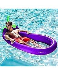 639b161fef15 JINWELL Piscina Gonfiabile Galleggiante PVC Amaca Gonfiabile Anello di Nuoto  Fila Piscina Salotto Sedia Materasso Galleggiante