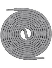 Mount Swiss© cordones, runds Nietos para trekking de y guantes de trabajo, extra resistente, 5mm de diámetro, longitud 70–220cm de poliéster