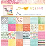American Crafts Amy Tangerine Rise and Shine Patterned - Best Reviews Guide