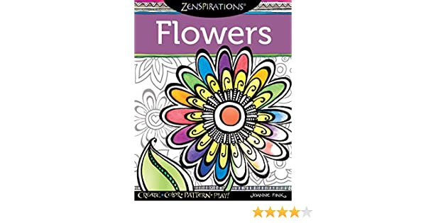 Buy Zenspirations Flowers Book Online At Low Prices In India