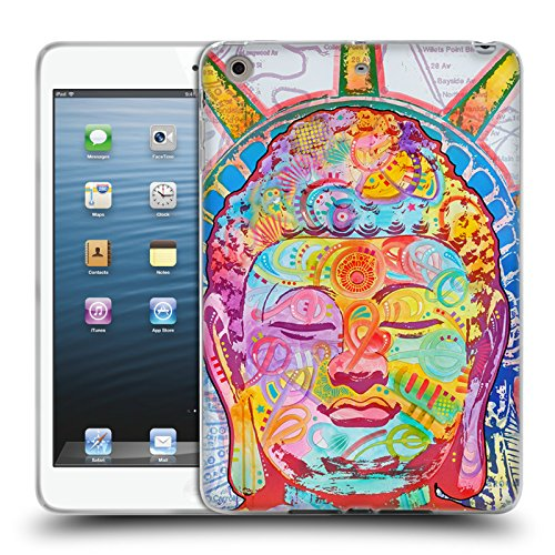 Head Case Designs Offizielle Dean Russo Buddha Liberty Popkultur Soft Gel Hülle für Apple iPad Mini 1/2/3