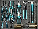 Werkstattwagen gefüllt mit Werkzeug Werkzeugschrank Werkzeugwagen Werkzeugkiste -