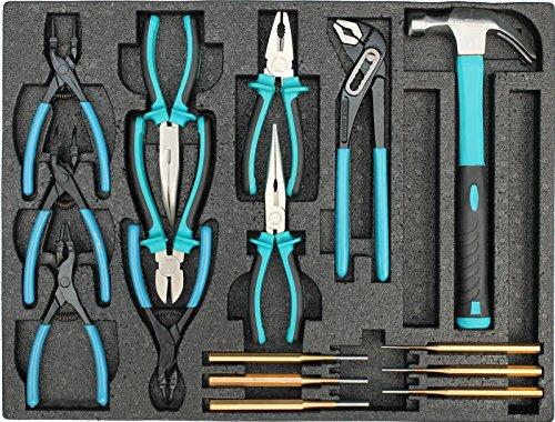 Kraftwelle Werkstattwagen Werkzeugwagen gefüllt mit Werkzeug Hammerlack lackierung K1 -