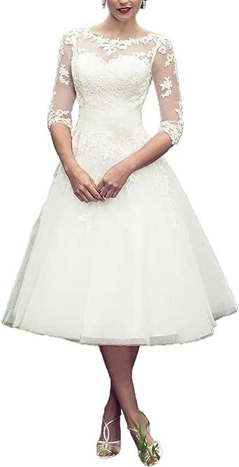 DreamyDesign Elegant Herzfömig Hochzeitskleid Standesamt ...