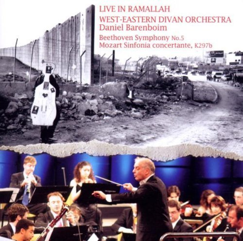 West-Eastern Divan Orchestra Live In Ramallah by Sharon Polyak, Mor Biron, Mohamed Saleh, Kinan Azmeh [Music CD] -