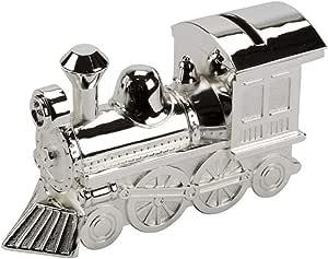 Tirelire Plaqu/é Argent Train