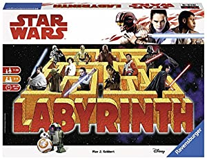 Ravensburger Star Wars Labyrinth The Last Jedi- Juego de Laberinto