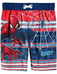 5b8f35ea1b598 Spiderman Marvel Toddler Boys Swim Trunks Bathing Suit