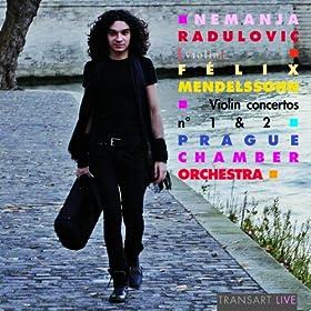 Mendelssohn : Concertos pour violon Nos. 1 & 2 - Violin concertos Nos. 1 & 2 (with the Prague Chamber Orchestra)