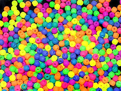 4gr-about-300-pcs-czech-glass-round-pressed-beads-estrela-neon-uv-active-mix-2-mm