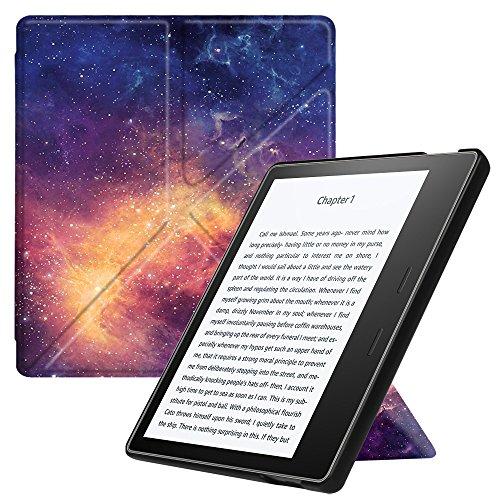 Preisvergleich Produktbild Fintie Hülle für Kindle Oasis 2017 - [Origami Serie] Leichte Multi-Winkel Stand Cover mit Auto Wake / Sleep Funktion für Amazon Kindle Oasis (9. Generation - 2017 Modell),  Die Galaxie