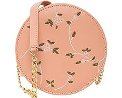 ADISA women girls embroided sling bag