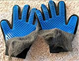 GOLDSTA Fellpflegehandschuh für Katzen Hunde | Fellhandschuh-Pflegehandschuhe | Katzenhandschuh | Katzenbürste inkl. Postkarte mit Katzenmotiv  Geschenkverpackung verfügbar  - 5