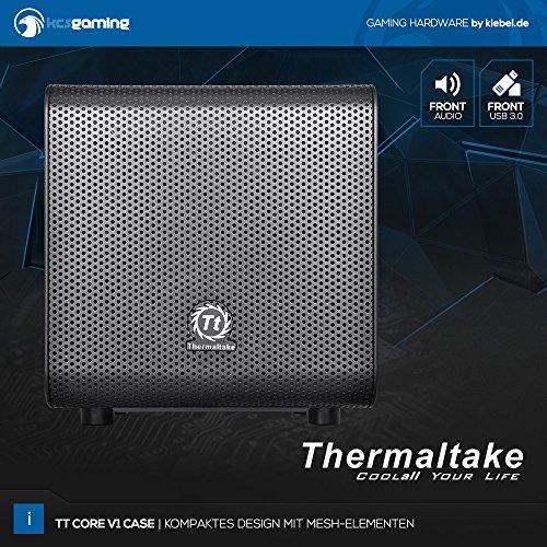 Gaming Cube 7.0 [184640] Intel i5 7500 4×3.4GHz | 16GB DDR4 | 1TB HDD | NVIDIA GTX 1050Ti 4GB | Sound | WiFi + LAN | Gamer PC Computer - 9