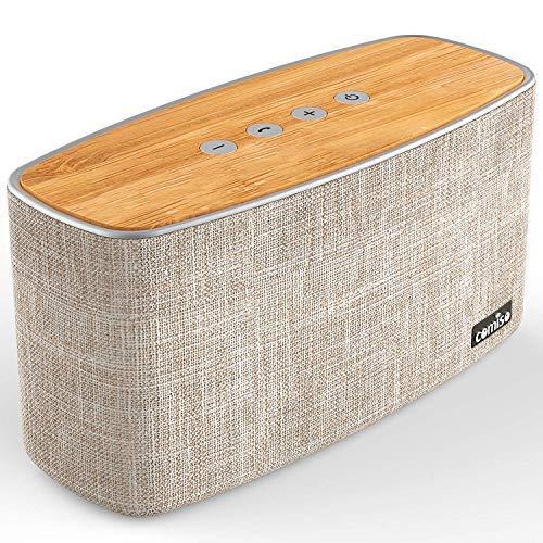COMISO 30W Altoparlante Bluetooth Senza Fili Stereo Cassa Portatile Speaker Bluetooth, Raggio...