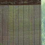 Raffrollos Bambus-Rollläden Mit Volant, Verdunkelungsrollläden Aus Holz for Den Balkon-Pavillon Mit Trennwänden, Breite 70/90/110/130/140 cm (Size : 130×270cm)