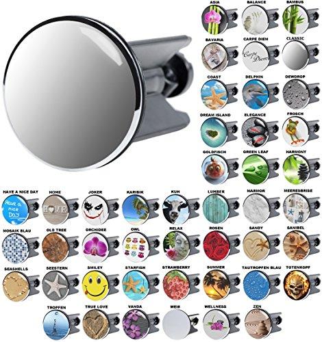 Waschbeckenstöpsel Classic, viele schöne Waschbeckenstöpsel zur Auswahl, hochwertige Qualität