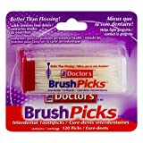 The Doctors Brush Picks To Remove Plaque And Food Particles - 120 Ea ( Pack of 6 )