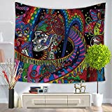 Decdeal 130*150cm Wall Hanging Tapestry,Picnic Beach Sheet,Yoga Mat ,Table cloth ,Bedspread,Decorative Wall Hanging