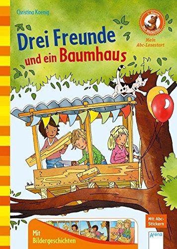 Drei Freunde und ein Baumhaus: Der Bücherbär: Mein Abc-Lesestart