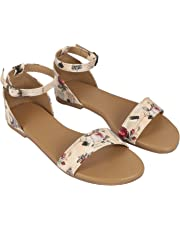 NS STYLE Comfortable Casual Flat Sandal for Women and Girls