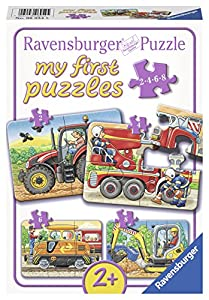 Ravensburger My First Puzzles 06954 Tradicional 2pieza(s) rompecabeza - Rompecabezas (Tradicional, Vehículos, Infant, Niño/niña, Caja)