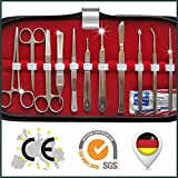 Large Basis Dissecting Kit Dissecting Instruments Dissecting Set, Students Kit Surgical Instruments . Basic Dissecting Kit